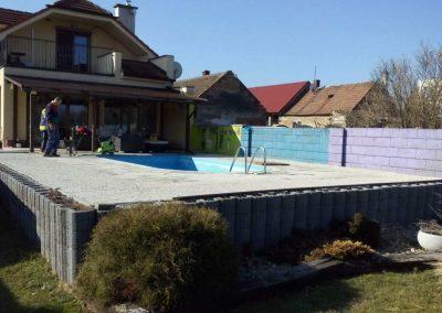 bazénová terasa