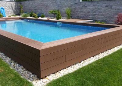 obklad bazéna