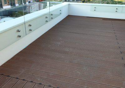 WPC terasa hnedá - balkón